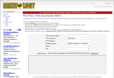 View topic - [Release] Straight to PS3 PKG / PSN Downloader