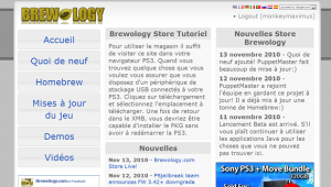 ps3 store » Brewology - PS3 PSP WII XBOX - Homebrew News, Saved