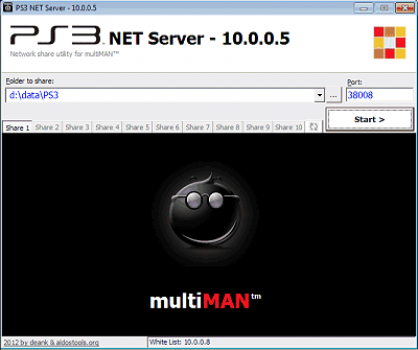 ps3 net server gui » Brewology - PS3 PSP WII XBOX - Homebrew